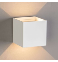 Design LED-Wand Cubic - Cubic blanc