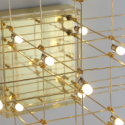 LED-goldene Designer Decken - Kyoto
