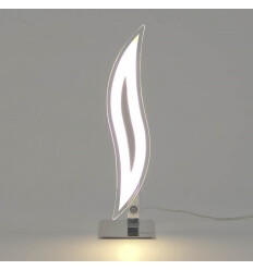 Tischleuchte - Design Chrom LED Flama