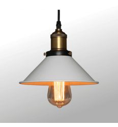 Suspension blanche industrielle TANSY