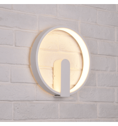 Applique circulaire blanche LED - Power