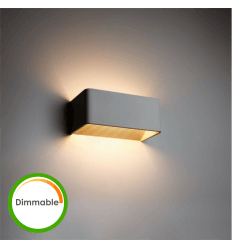 Applique LED 6W Dimmable - Quadra 20 cm