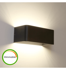LED-Dimmer schwarz Bracket - Quadra