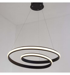 LED ribbon modern pendant light - Keane